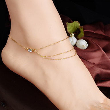 Anklet - Tassel, Vintage, Party Screen Color For Daily / Women's