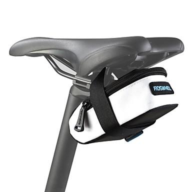 ROSWHEEL Bisiklet Çantası 0.5L Bisiklet Sele Çantaları Su Geçirmez Su Geçirmez Fermuar Giyilebilir Darbeye Dayanıklı Bisikletçi Çantası