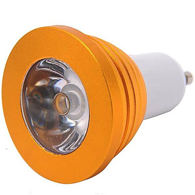 YWXLIGHT® 300 lm E14 GU10 E26/E27 Żarówki punktowe LED MR16 1 Diody lED High Power LED Przysłonięcia Zdalnie sterowana RGB AC 85-265V