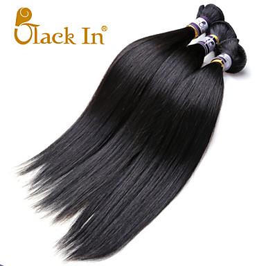 İnsan saç örgüleri Hintli Saçı Rovné 3 Parça saç örgüleri