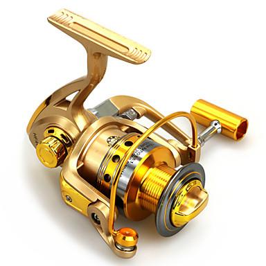 Spinning Reel 5.5:1 Gear Ratio+10 Ball Bearings Hand Orientation Exchangable Spinning - HF1000/HF2000/HF3000/HF4000