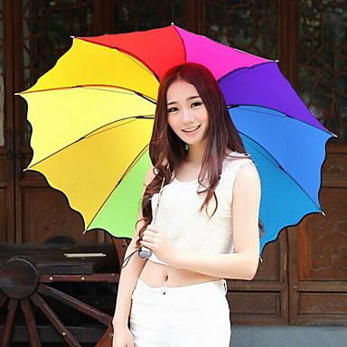 moda naylon çorap / metal renkli şemsiye kapalı yetmiş yüzde Modern / çağdaş / casual (renk rastgele)