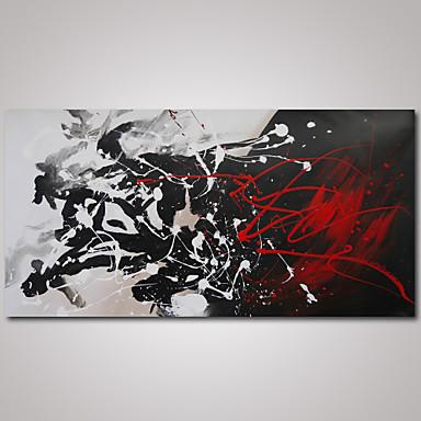 Ручная роспись Абстракция Modern 1 панель Холст Hang-роспись маслом For Украшение дома