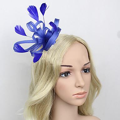 перьевые чистые факсимиляторы головной убор элегантный классический женский стиль