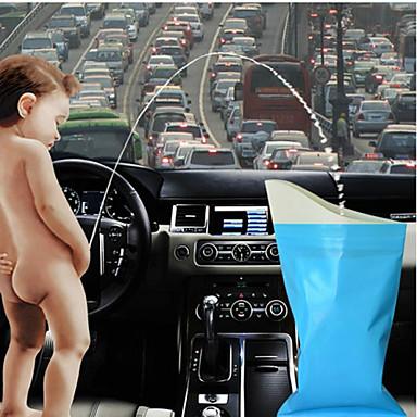 autokäyttöön unisex deodorantti kertakäyttöisiä ulkona matkakäyttöön virtsapussi oksennus sairas pussit (4 kpl / erä) miniatyyri wc