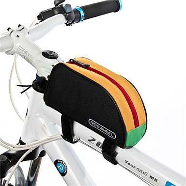 Rosewheel 자전거 가방 1L자전거 프레임 백 방수 방수 지퍼 착용 가능한 방습 싸이클 가방 600D 폴리 에스테르 싸이클 백 사이클링 / 자전거 여행