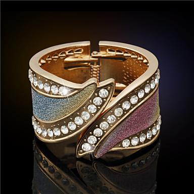 여성제품 - 빈티지/귀여움/파티/캐쥬얼 플래티넘 도금/모조 다이아몬드