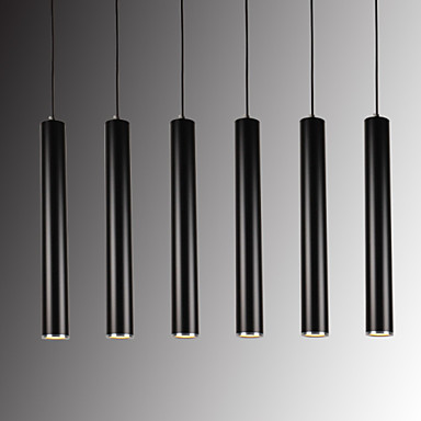 Подвесные лампы Потолочный светильник - LED, Модерн, 110-120Вольт 220-240Вольт, Теплый белый Белый, Лампочки включены