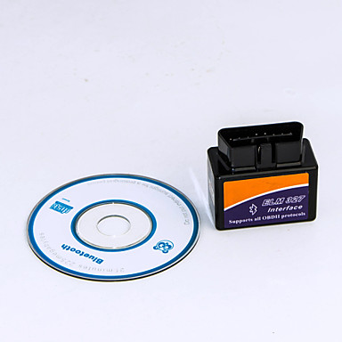 ELM327 Bluetooth v1.5 interface de diagnóstico carro obd2