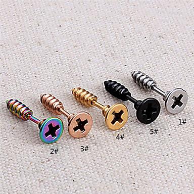 Muškarci Sitne naušnice Personalized Titanium Steel Jewelry 1 2 3 4 5 Party Dnevno Nakit odjeće