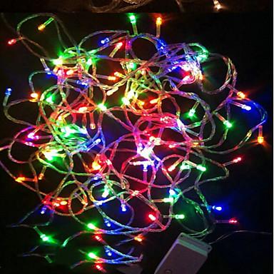 LED-es szalagfények 180 LED RGB Vízálló Színváltós 220 V