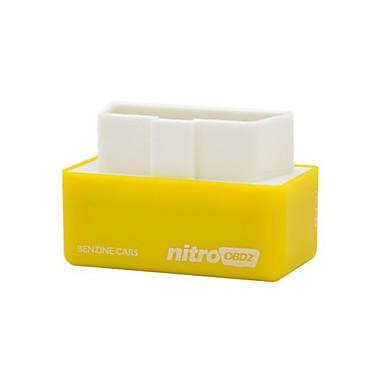 ราคาถูก OBD-nitro obd2 สำหรับรถยนต์เบนซินสมรรถนะของชิปกล่องปรับแต่งรถประหยัดน้ำมันเชื้อเพลิงให้แรงบิดที่มากขึ้น