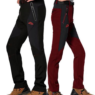 Men's Hiking Pants Outdoor Waterproof, Rain-Proof, Thermal / Warm Spring / Fall / Winter Pants / Trousers Camping / Hiking / Hunting /