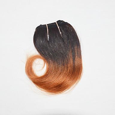 Brasilianisches Haar Große Wellen Unbehandeltes Haar Ombre 1 Bündel 8Zoll Menschliches Haar Webarten