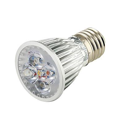 E26/E27 LED szpotlámpák A50 5 led Nagyteljesítményű LED Dekoratív Meleg fehér 450lm 3000K AC 110-130 AC 220-240V