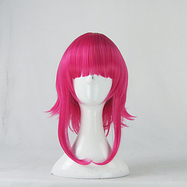 Cosplay Wigs LOL Annie Anime/ Video Games Cosplay Wigs 35 CM Heat Resistant Fiber Male Female