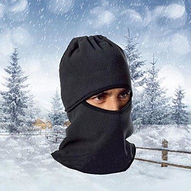 Ski Balaclava Hat Balaclava Winter Thermal / Warm Windproof Dust Proof Breathable Leisure Sports Cycling / Bike Men's Women's Fleece Solid