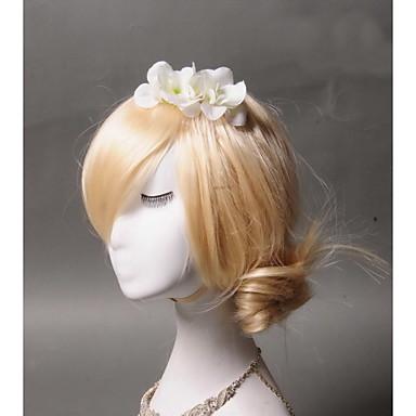 Fabric Hair Combs Headpiece Wedding Party Elegant Feminine Style