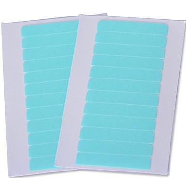 abordables Pelucas de Cabello Natural-Material Mixto Peluca del pegamento adhesivo Cintas Adhesivas 1 bag*60pcs Herramientas para Extensiones