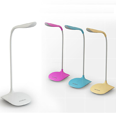 Modern/Contemporary LED Desk Lamp For PVC White Yellow Pink Light Blue
