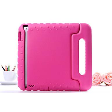 Case For Apple iPad Mini 4 iPad Mini 3/2/1 iPad 4/3/2 iPad Air 2 iPad Air Shockproof with Stand Back Cover Solid Color Hard EVA for iPad