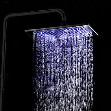 Antique Rain Shower Antique Bronze Feature - Rainfall LED, Shower Head