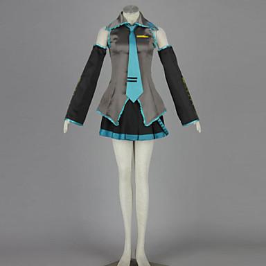 קיבל השראה מ קוספליי קוספליי אנימה תחפושות קוספליי חליפות קוספליי טלאים חולצה חצאית שרוול אביזר למותניים גרביונים קשר עבור יוניסקס