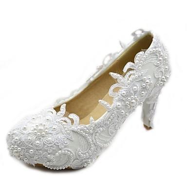 Γάμος Παπούτσια - Γυναικεία - Με Τακούνι - Γόβες - Γάμος / Πάρτι & Βραδινή Έξοδος / Φόρεμα - Άσπρο