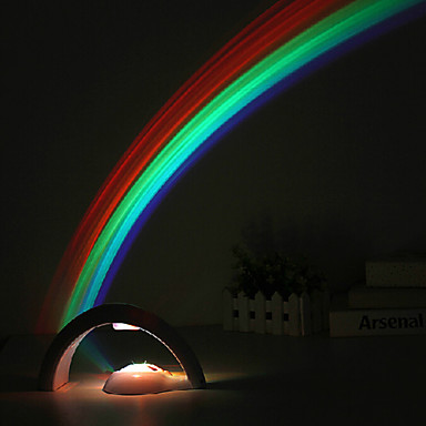 1W Creative Usb Cromantic Starry Sky Rainbow Projection Led Lamp Is Acted  A Night Light 23*11.5*12.5CM 220V ABS