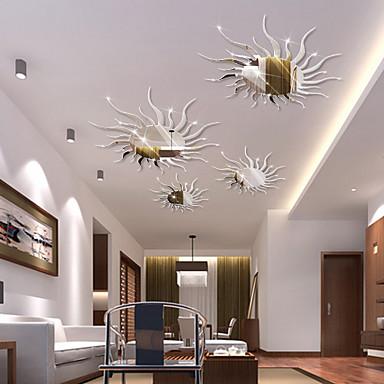 Muodot 3D Wall Tarrat Peilitarrat Koriste-seinätarrat,Vinyyli Kodinsisustus Seinätarra For Seinä