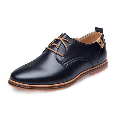 Masculino sapatos Courino Primavera Verão Outono Inverno Conforto Inovador Oxfords Cadarço Para Casamento Atlético Casual Festas & Noite