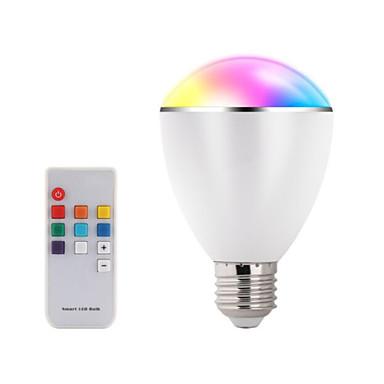 100V~240V RGB  LED Wireless Bluetooth Speaker Bulb Audio Speaker Music Playing & Lighting With E27 Remote Control lights
