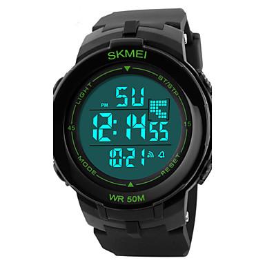 levne Sportovní hodinky-SKMEI Pánské Sportovní hodinky Náramkové hodinky  Digitální Z umělé kůže Černá 50 8f0f7cb02a