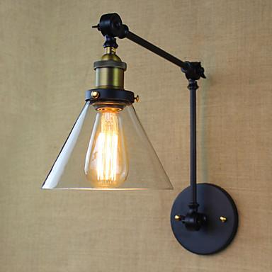 Rustikk / Hytte Swing Arm Lights Metall Vegglampe 110-120V / 220-240V 40W / E26 / E27