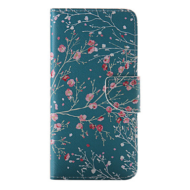 Case For Apple iPhone 8 / iPhone 8 Plus / iPhone 6 Plus Wallet / Card Holder / with Stand Full Body Cases Flower Hard PU Leather for iPhone 8 Plus / iPhone 8 / iPhone 7 Plus