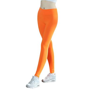 Femme Collants de Course Leggings de Sport Séchage rapide Respirable Compression Matériaux Légers Elastique Anti-transpiration Collants