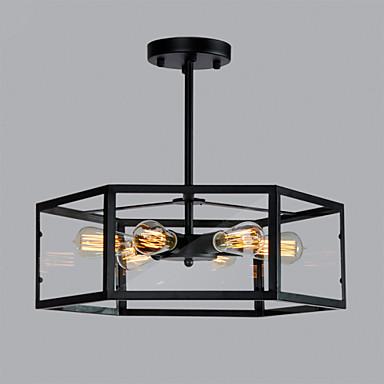 6-Light Lantern Pendant Light Downlight - Mini Style, 110-120V / 220-240V Bulb Not Included / 10-15㎡ / E26 / E27