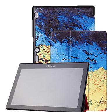 Case For Lenovo Full Body Cases Tablet Cases Print Hard PU Leather for