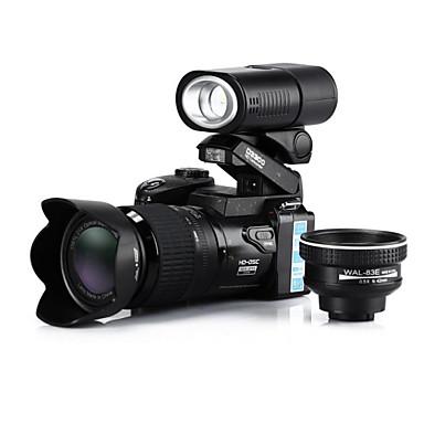 Dijital Kamera Video Out Geniş Açı Mikrofon Siyah 2.8