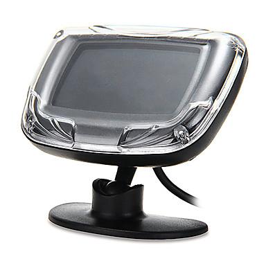 araba lcd ekranı 4 park sensörleri siyah yedekleme radar sistemi ters arka