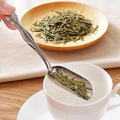 minimalist paslanmaz çelik kürek kaşık çay kaşığı çay kaşığı çay aksesuarı