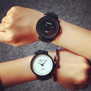 AttractiveNEW Watch Fashion Round Steel Case Men Women Leather Quartz Analog Wrist Watch Top Sale Cool Watches Unique Watches