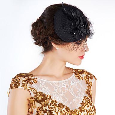 Krystall / Feder / Stoff Tiaras / Blumen / Hüte mit 1 Hochzeit / Besondere Anlässe / Party / Abend Kopfschmuck