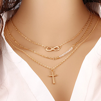 Women's Infinity Layered Necklace - Fashion Infinity Necklace For Special Occasion Birthday Gift