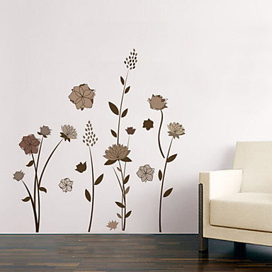 Natal / Floral / Feriado / Paisagem Wall Stickers Autocolantes 3D para Parede , pvc 50x70x0.1cm