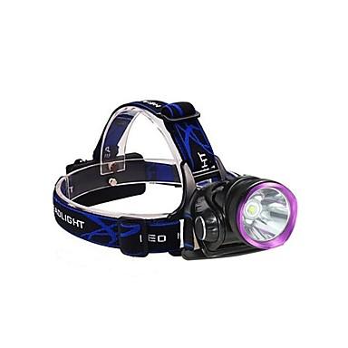3Mode Frontale / Lumini de Bicicletă LED 2000lm 3 Mod Zbor cu Baterii și Încărcătoare Rezistent la Impact / Reîncărcabil / Rezistent la