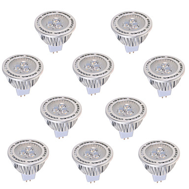 YWXLIGHT® 450 lm GU5.3(MR16) LED Spotlight MR16 3 leds COB Decorative Warm White Cold White AC 12V DC 12V AC 85-265V