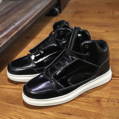 Men's Shoes Casual Fashion Sneakers Shoes Black / White