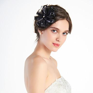 Ženy Tyl Přílba-Svatba Zvláštní příležitost Neformální Outdoor Ozdoby do vlasů
