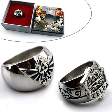 Jewelry Inspired by The Legend of Zelda Cosplay Anime / Video Games Cosplay Accessories Ring Alloy Men's